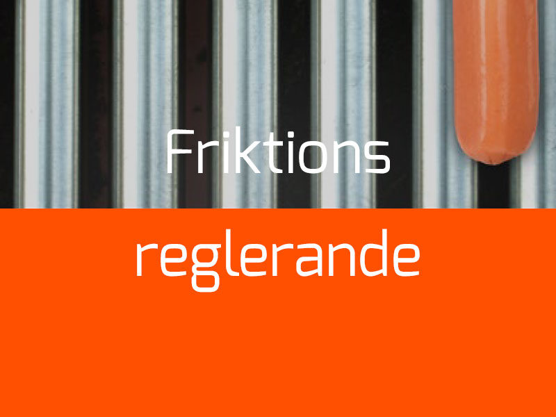Friktionsreglerande termoplast